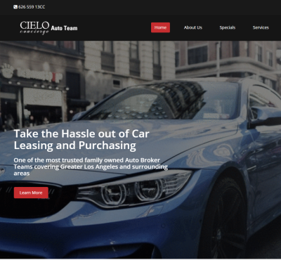 Car Leasing Website